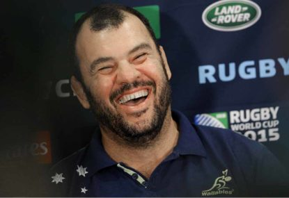 Cheika safe for now as RA rule out play for White