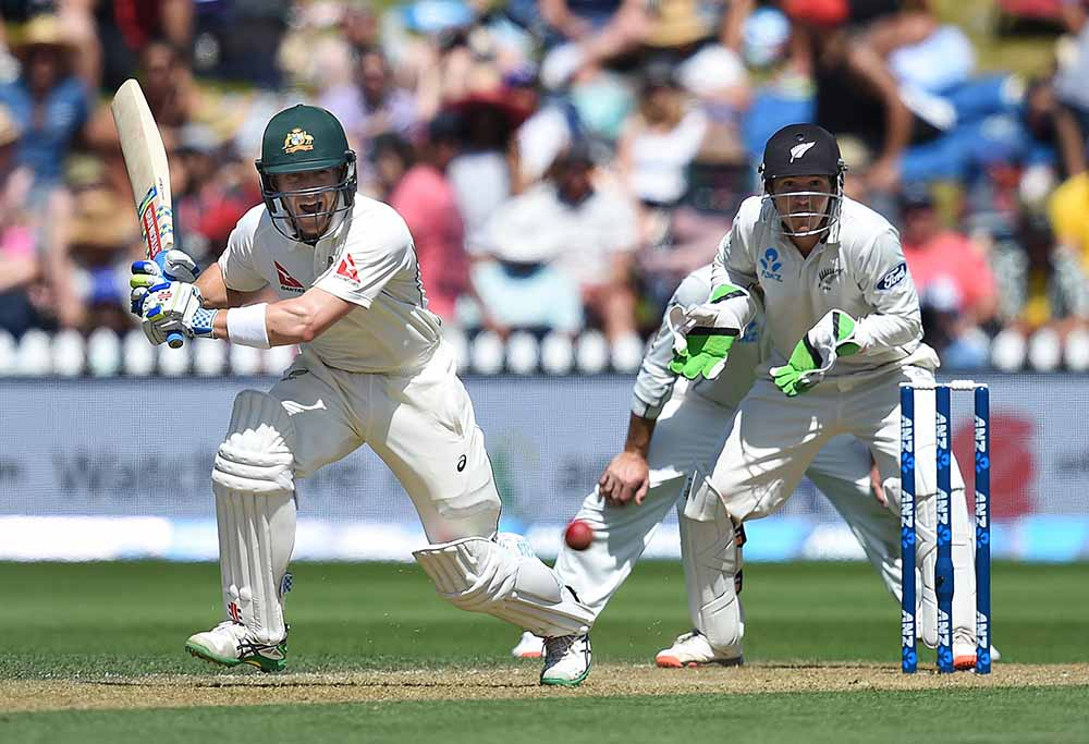 Peter Nevill takes off for a run