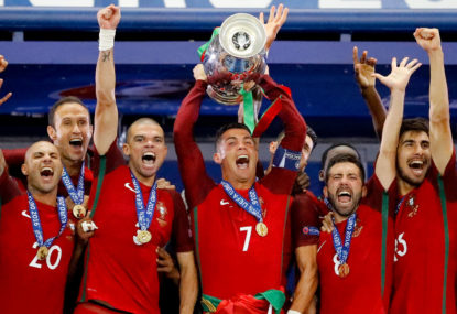 Portugal and Ronaldo's devolution towards victory
