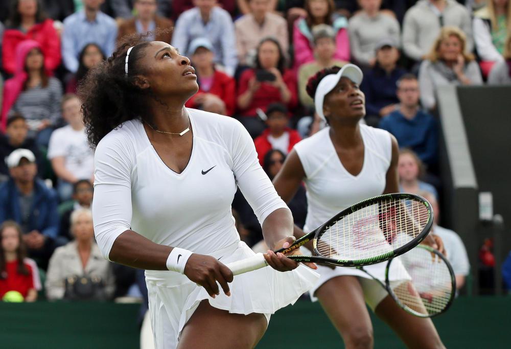 Serena William Venus Williams Wimbledon Tennis 2016