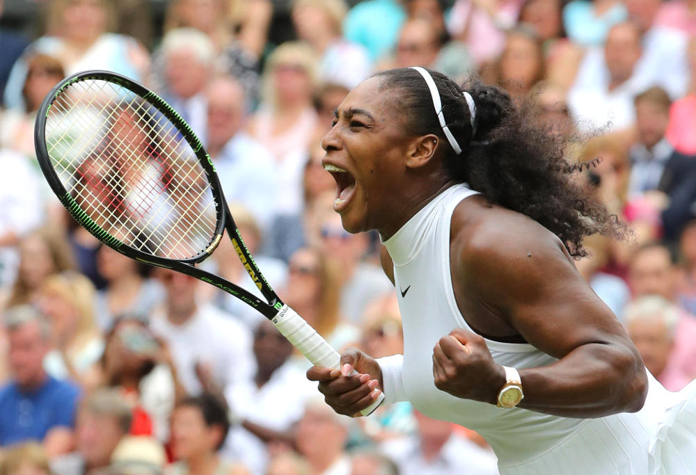 Serena Williams Tennis Wimbledon 2016