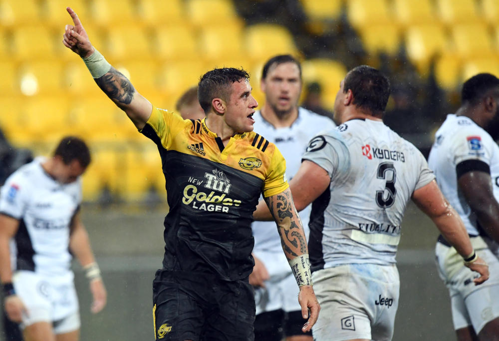 TJ Perenara Hurricanes Super Rugby Rugby Union 2016