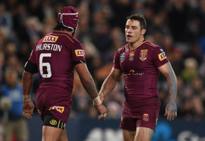 FINISH THIS SENTENCE: With Johnathan Thurston back, Queensland will...