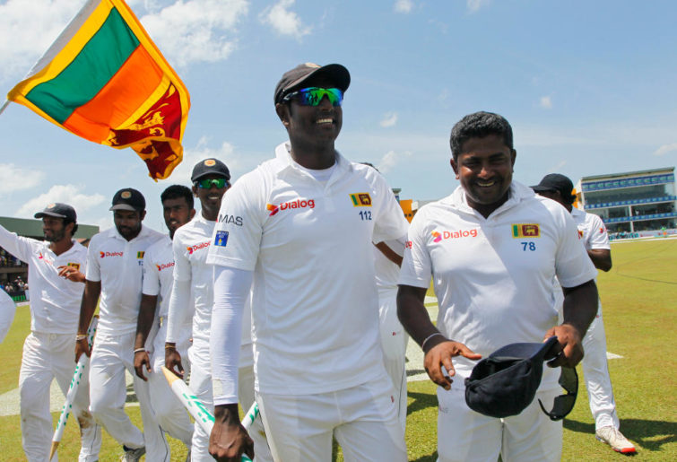 Angelo Mathews Sri Lanka Test Cricket 2016