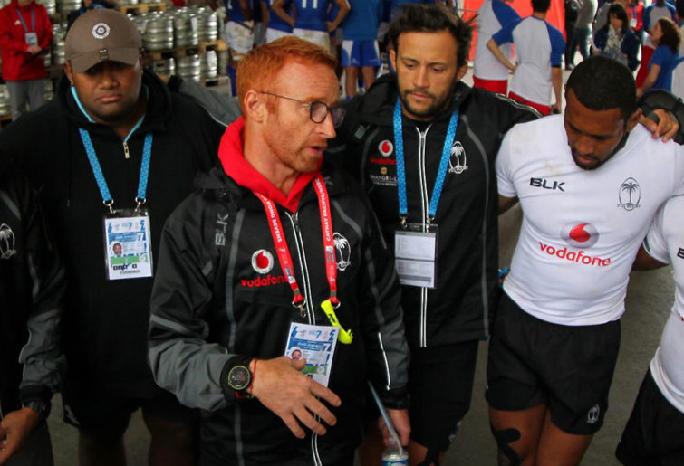 Fiji sevens coach Ben Ryan