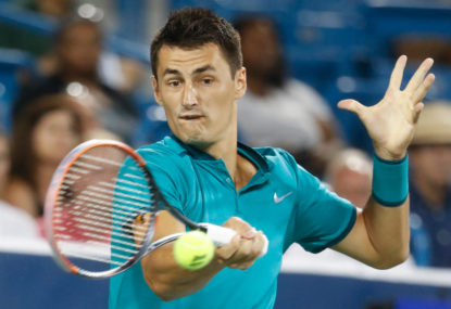 Tomic shows us what he is capable of when motivated