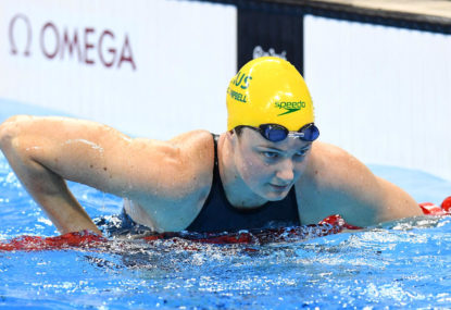 Cate Campbell, you are still a champion