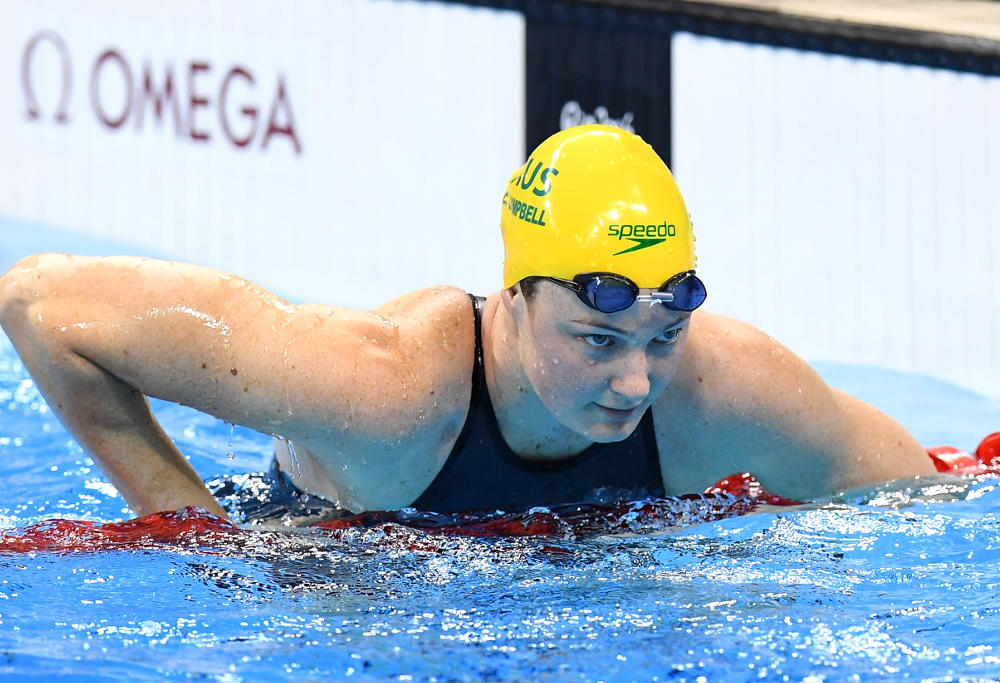Australian swimmer Cate Campbell