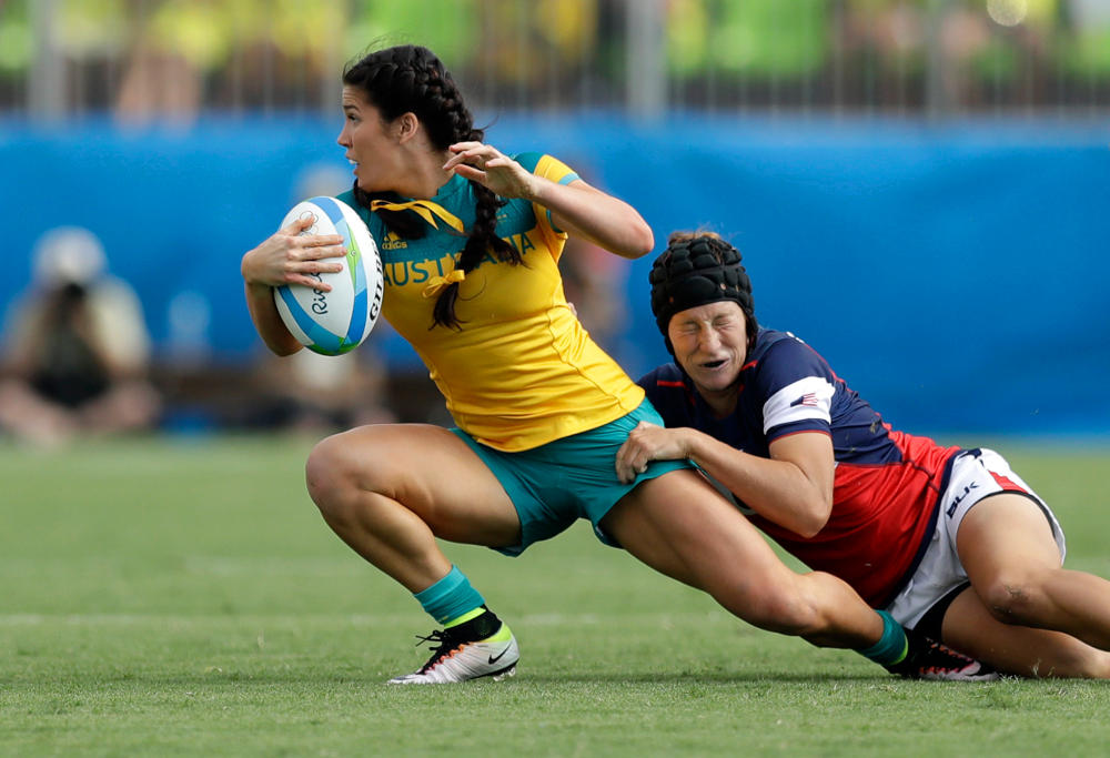 Charlotte Caslick Rugby Sevens Australia Rio 2016 Olympic Games