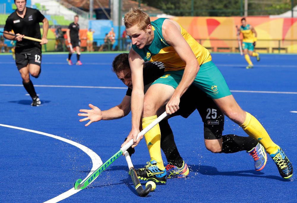 Daniel Beale Australia Hockey Kookaburras Rio 2016 Olympic Games