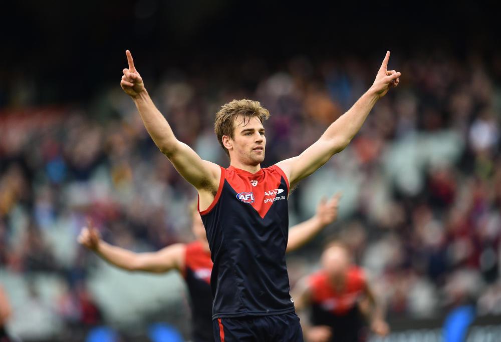 Dom Tyson Melbourne Demons AFL 2016