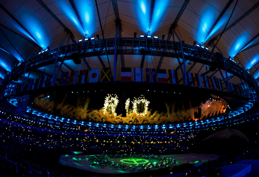 Fireworks Rio 2016 Olympic Games