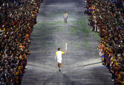 Fires of Illusion: Guarding the Olympic Flame in Rio