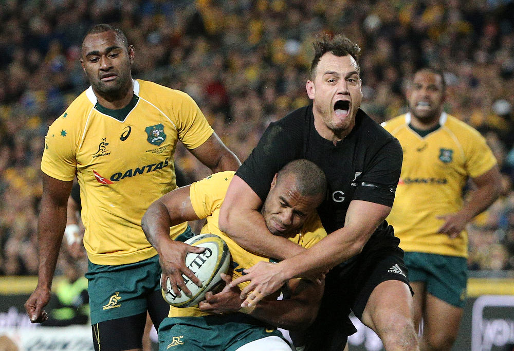 Israel Dagg All Blacks New Zealand Test Rugby Union Rugby Championship 2016