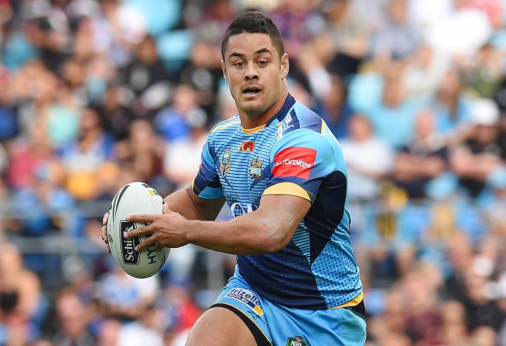 Jarryd Hayne Gold Coast Titans NRL Rugby League 2016 b
