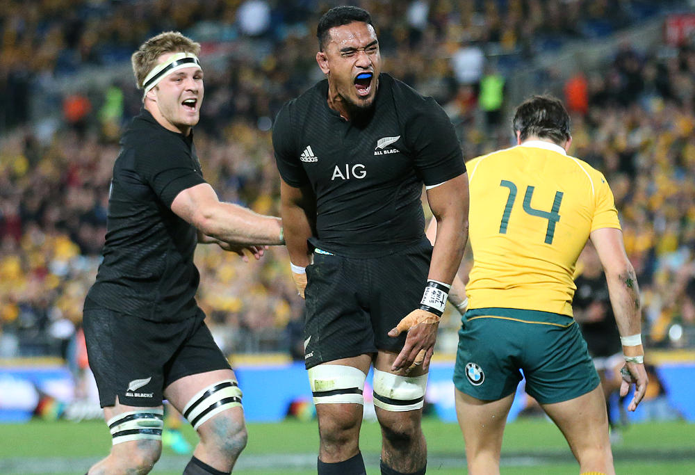 Jerome Kaino New Zealand All Blacks Test Rugby Rugby Union 2016