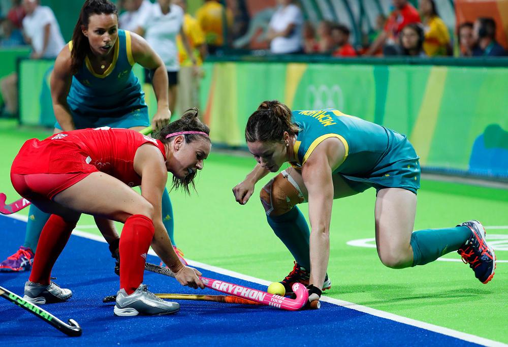 Karri McMahon Australia Hockey Hockeyroos Rio 2016 Olympic Games
