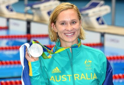Australia, let's recognise the brilliance of a silver medal