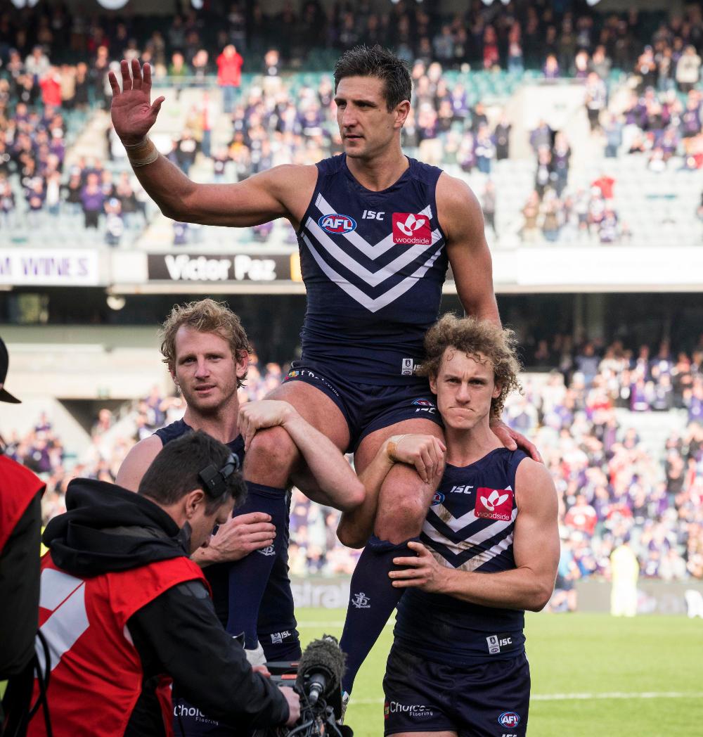 Matthew Pavlich Fremantle Dockers AFL 2016 tall