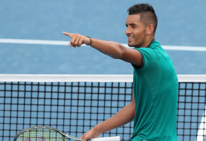Retire at 27 to play basketball? Kyrgios, you've officially lost me as a fan