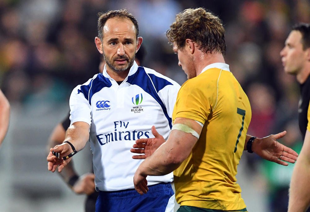 Romain Poite Bledisloe Cup Rugby Championship 2016