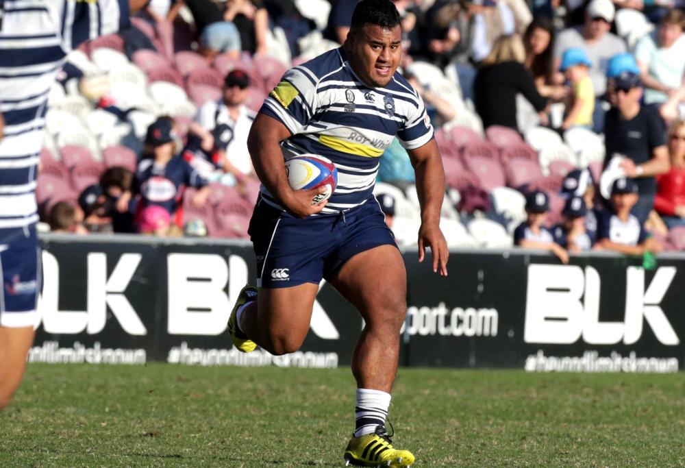 Tongan Thor on the charge