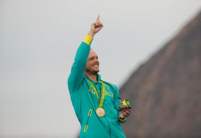 GOLD MEDAL! Tom Burton sails Australia to number 7