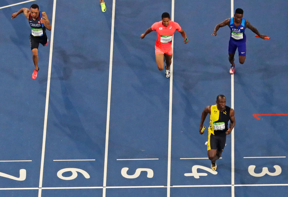 Usain Bolt Rio 2016 Olympic Games Atheltics Men's 4x100m relay