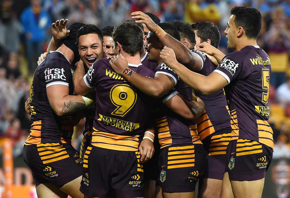 Alex Green Brisbane Broncos NRL Rugby League 2016