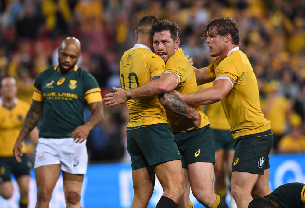 Bernard Foley Rugby Union Australia Wallabies Test Championship 2016