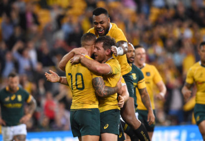 The way forward for the Wallabies: Win at Eden Park