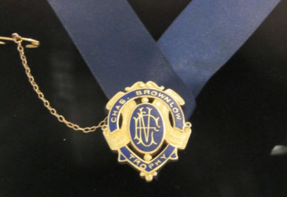 AFL makes its call - Trent Cotchin, Sam Mitchell named 2012 Brownlow winners