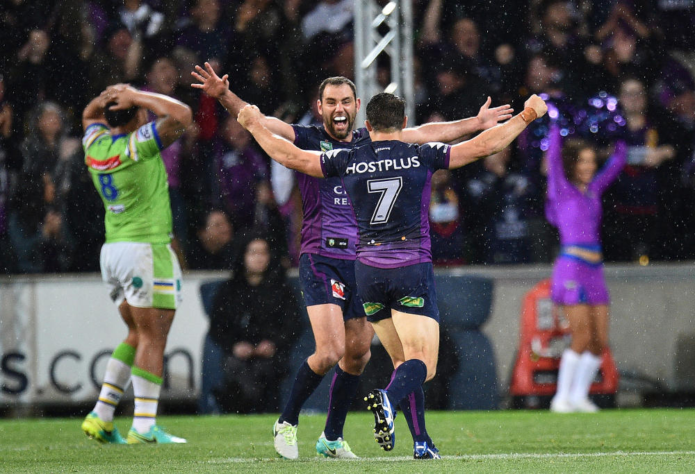 Cameron Smith Melbourne Storm NRL Finals Rugby League 2016