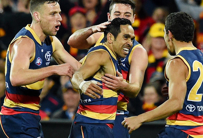 Eddie Betts Adelaide Crows AFL Finals 2016