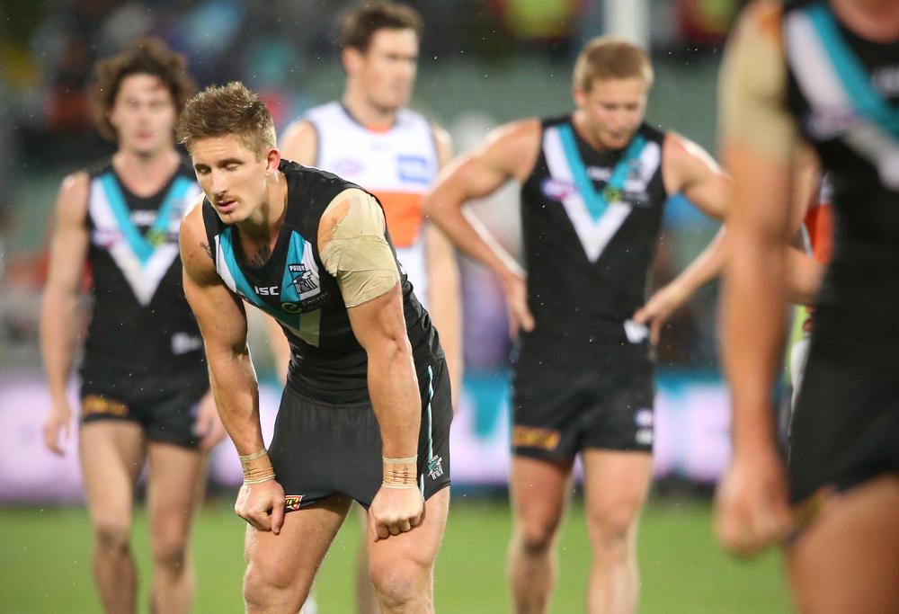 Hamish Hartlett AFL Port Adelaide Power 2016