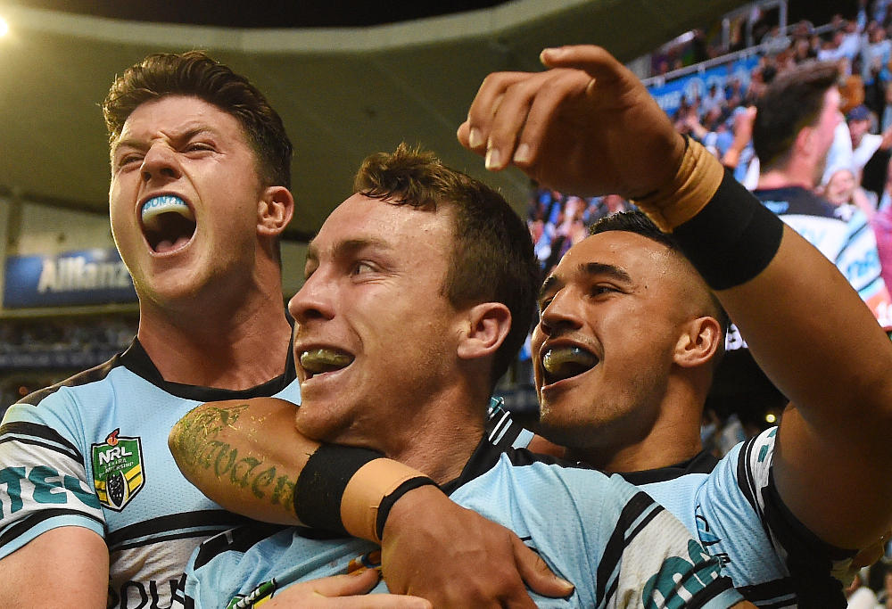 James Maloney Cronulla Sharks NRL Finals 2016 Rugby League