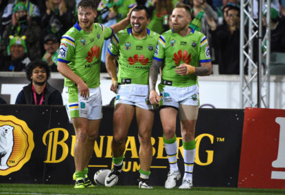 Canberra fans should be applauded