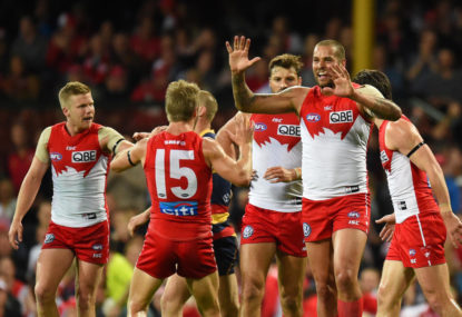 Swans survive St Kilda skirmish 77-74