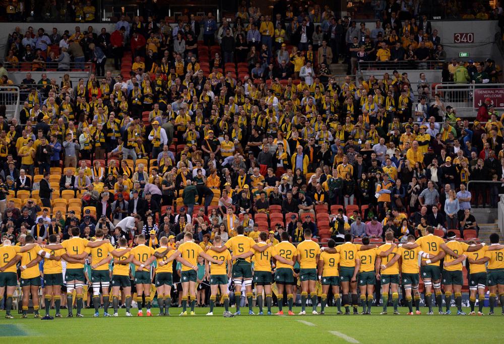 Wallabies Australia Rugby Union Test Championship 2016