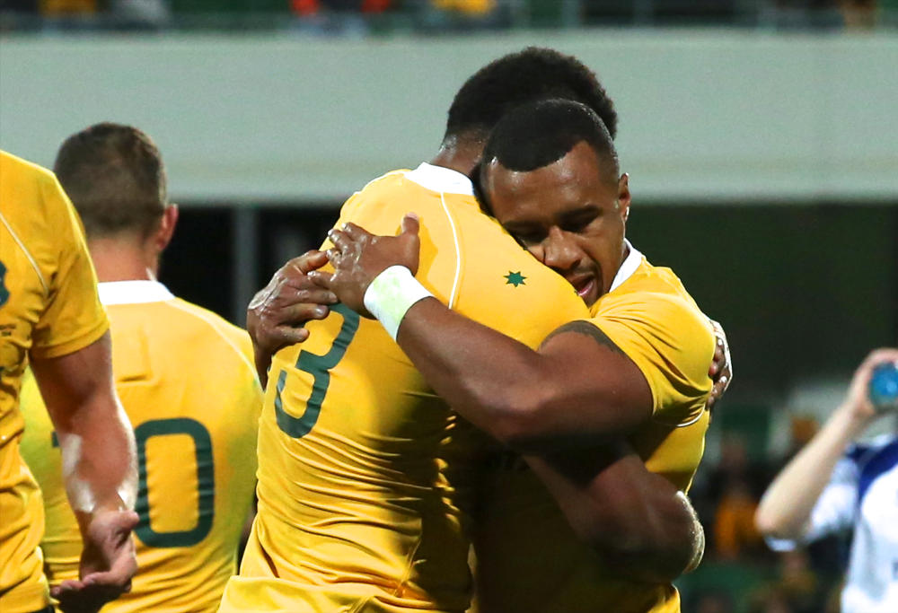 Will Genia Wallabies Australia Rugby Union Test Championship 2016
