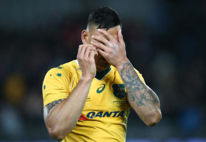 Israel Folau has been unfairly hounded out of Australian rugby