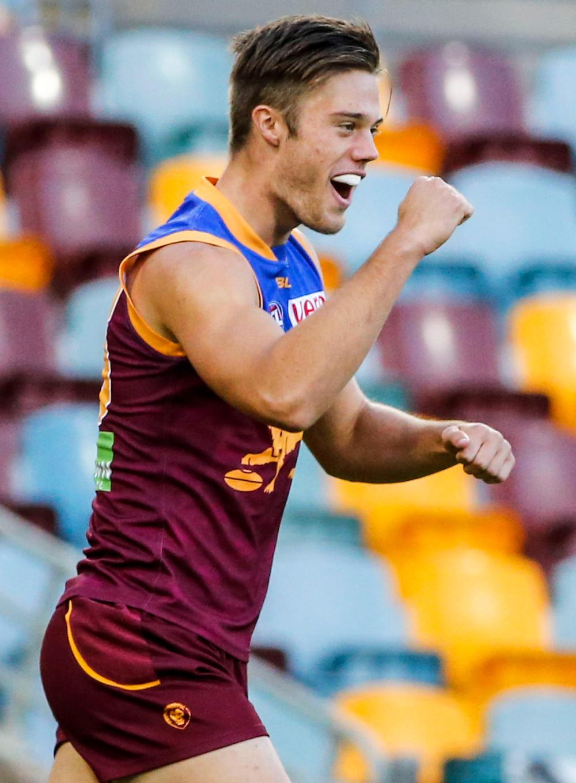 Josh Schache Brisbane Lions AFL 2016 tall