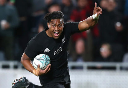 The referees are favouring the All Blacks