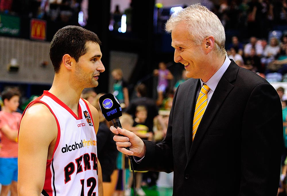 Kevin Lisch and Andrew Gaze