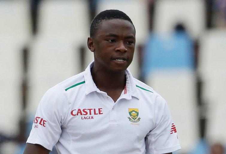 South Africa's bowler Kagiso Rabada