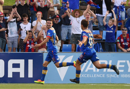 Newcastle Jets vs Central Coast Mariners highlights: A-League live scores, blog
