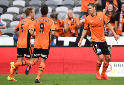 Brisbane Roar vs Western Sydney Wanderers highlights: A-League live scores, blog