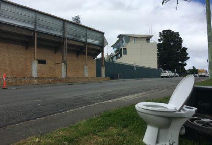 Unwanted quiet in Hobart, Australia's hard-luck cricket venue
