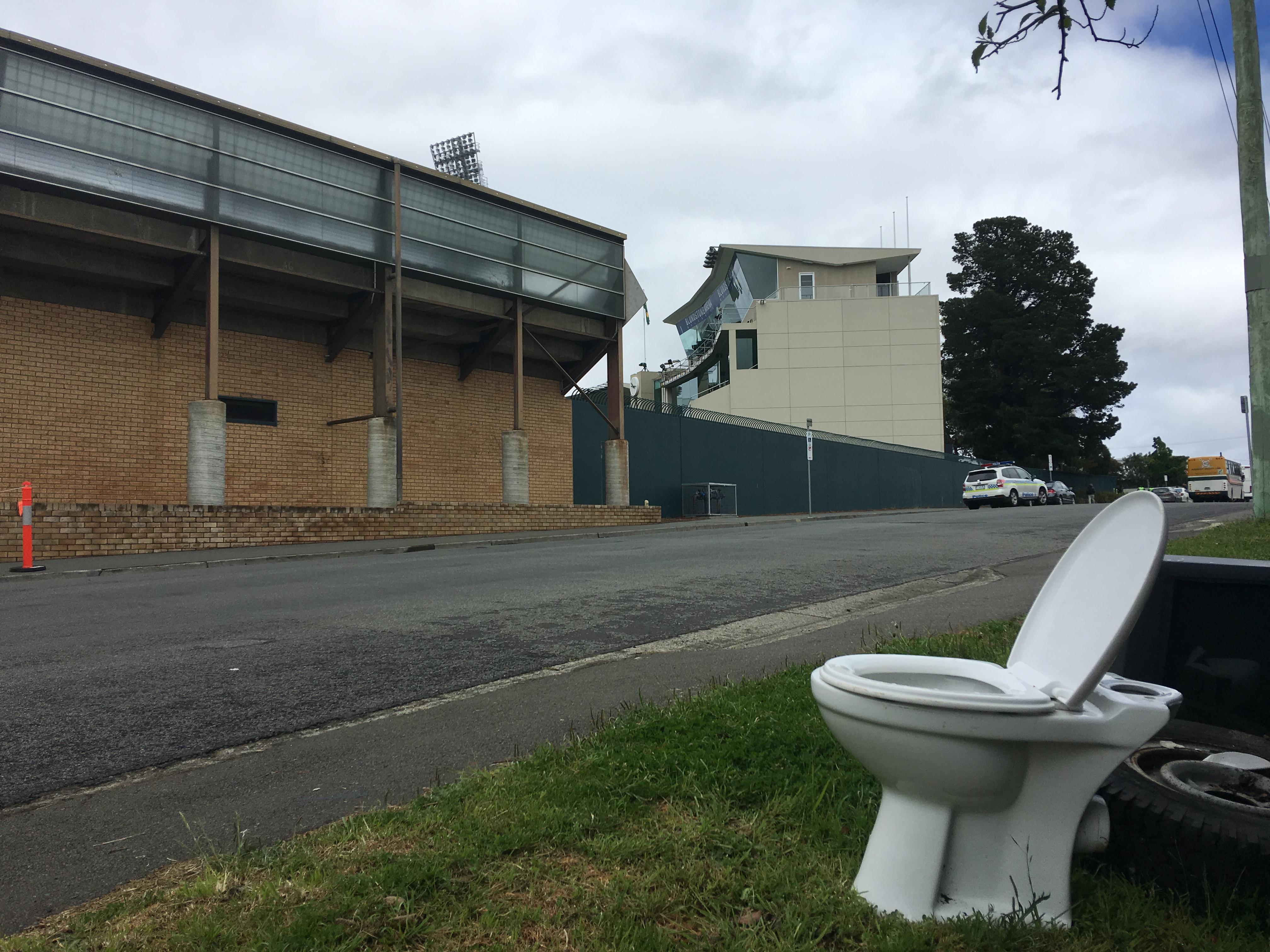 Bellerive Oval facilities (photo: Geoff Lemon)