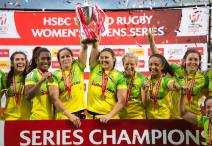 Rugby's golden girls happy to carry union forward